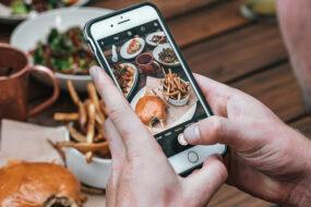 bestil måltidskasser fra din mobiltelefon